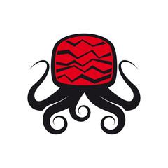 oktopus tv medien symbol