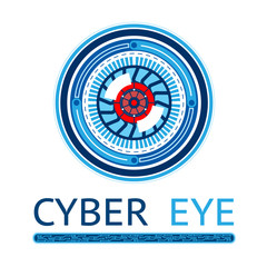 Creative Cyber Eye Logo