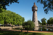 Leinwanddruck Bild - Wasserturm 17