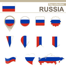 Russia Flag Collection