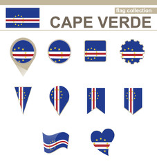 Cape Verde Flag Collection