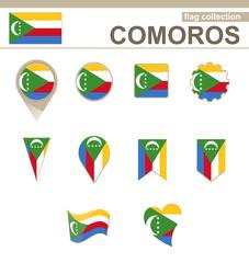 Comoros Flag Collection