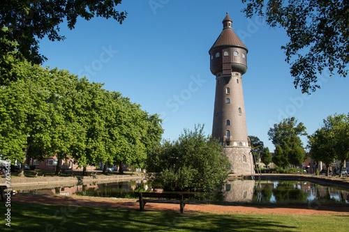 Leinwanddruck Bild Wasserturm 17