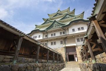 Nagoya Castle entrance - Japan