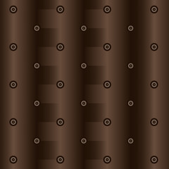 Abstract drawing in brown