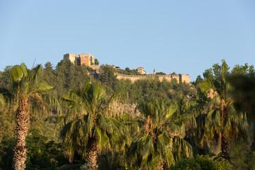 The castle in Alanya Turkey