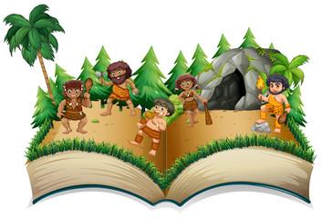 Caveman Book