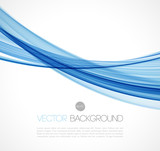 Abstract transparent fractal wave template  background brochure