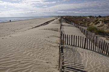 Plage dune