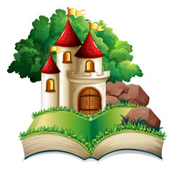 Castle and book