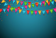 Party celebration background. - 76048300