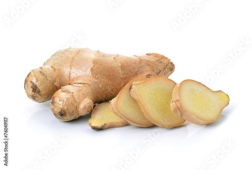 ginger on white background - 76049117