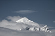 Beautiful snow-capped mountains - 76050160