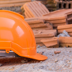 construction helmet safety for protect worker from accident in c