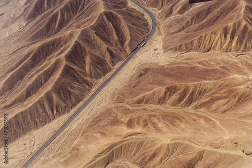 Tuinposter Gletsjers Nazca Lines and geoglyphs
