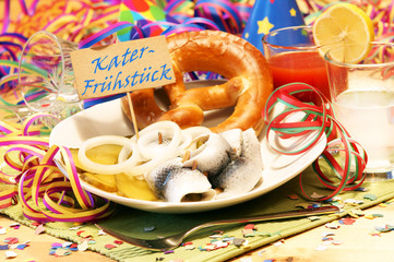 Kater-Frühstück