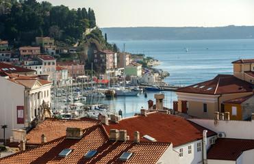 Town of Piran, adriatic sea, Slovenia