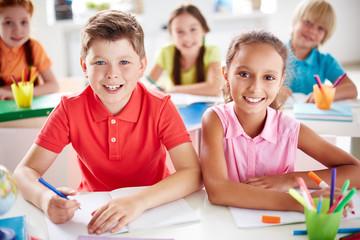 Little school friends