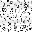 music notes - 76053332