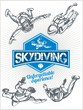 Skydiving. Vector set - emblem and skydivers. - 76053793
