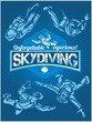 Skydiving. Vector set - emblem and skydivers. - 76053797
