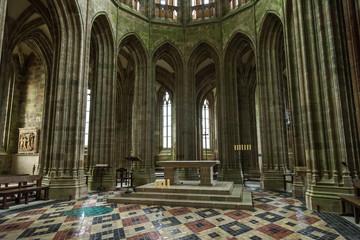フランス モン・サン・ミシェル 礼拝堂