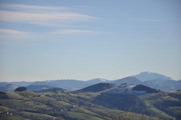 Niederösterreichisches Alpenvorland im Winter