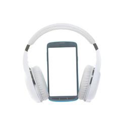cellphone with wireless headphones