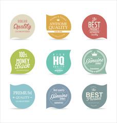 Modern badges
