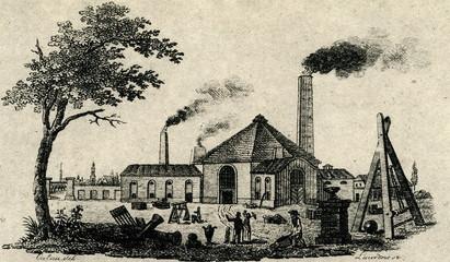 Royal Prussian Iron Foundry, Berlin, Germany, ca. 1816