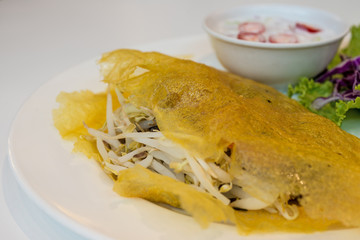 Vietnamese stuffed crispy