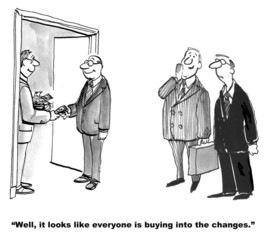 Buying Into Change Management