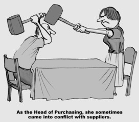 Conflict Resolution, Purchasing Department