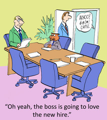 Boss is Allergic to New Hire
