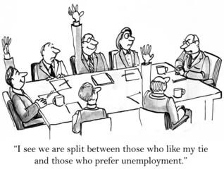 Business Boss Jokes A Bit Too Much