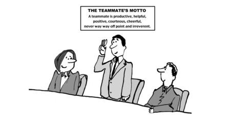 Teammate's Motto