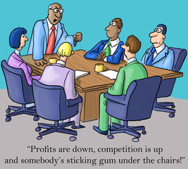 Business Profits are Down