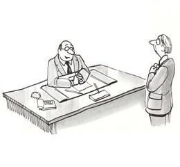 Businessmen Talking