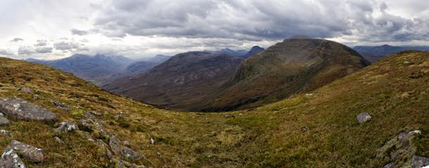 Beautiful Wester Ross mountains , Torridon, Scotland, UK