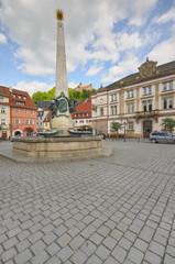 Luitpoldbrunnen, Kulmbach, #8373,