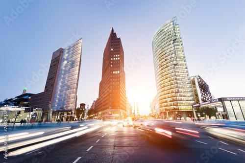 Leinwanddruck Bild Potsdamer Platz