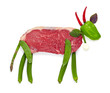 Arcimboldo cow