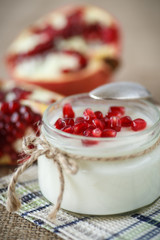 pomegranate yogurt