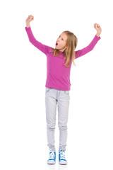 Winner little girl