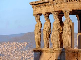 Caryatides, Acropolis of Athens