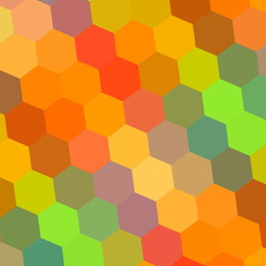 Abstract Background in Rainbow Colors - Pattern Element