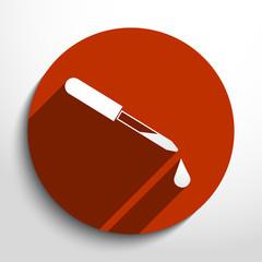 Vector dropper web icon.