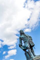 Georg Friedrich Händel am Marktplatz von Halle