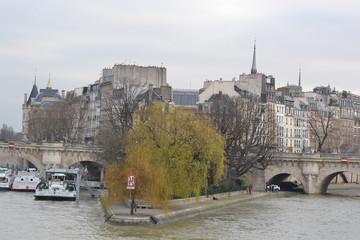 Cite island in Paris.