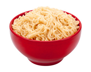 Ramen Noodles in a Bowl